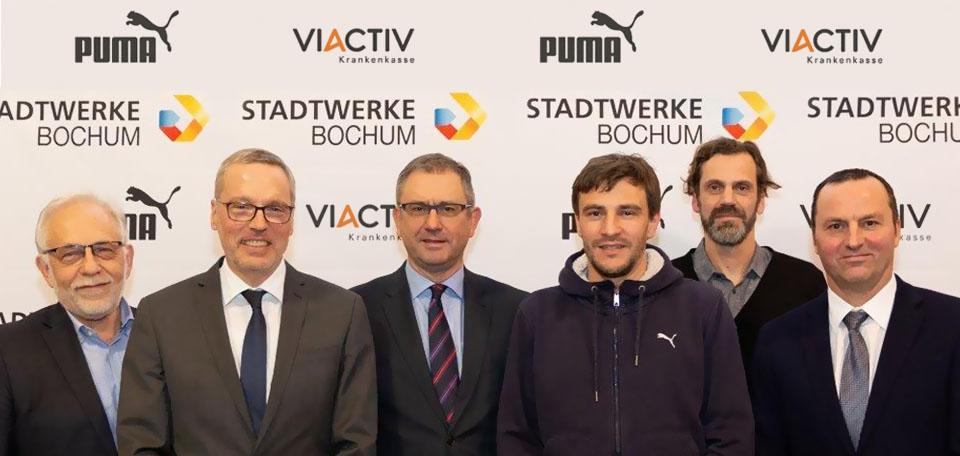 Die Top-Sponsoren und -Partner des TV Wattenscheid 01! (Foto: VIACTIV)