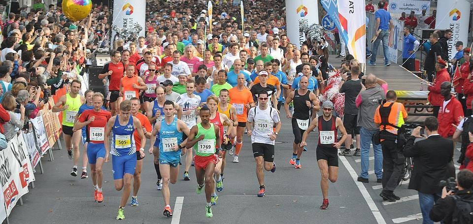 der Stadtwerke Halbmarathon - jährliches Top Ereignis in Bochum