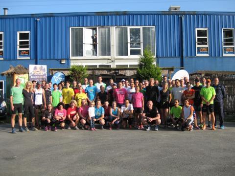 Foto: Teilnehmer des 17. Lauftreffs