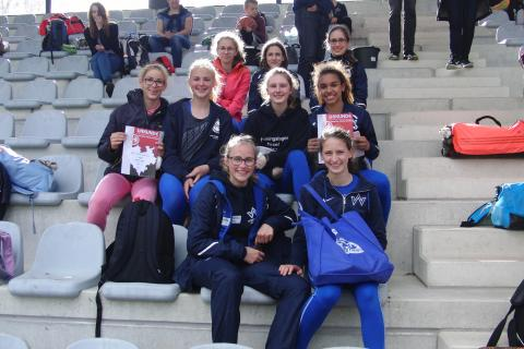 Das erfolgreiche Team der Weiblichen Jugend U16 (Foto: TV 01)