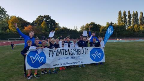 Platz 3: Das Team der Männlichen Kinder U12 (Foto: TV01)
