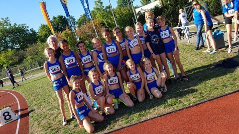 Bestes Team in Westfalen: Die Weiblichen Kinder U12 (Foto: TV01)