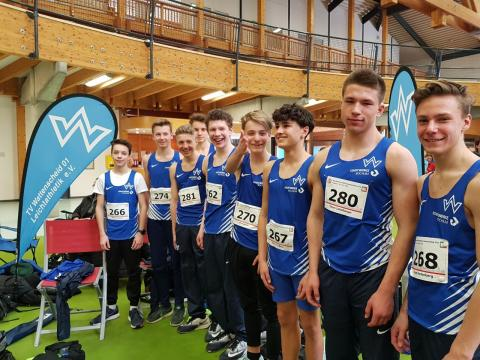 Das Team der MJ U16 in Paderborn. (Foto: TV01)