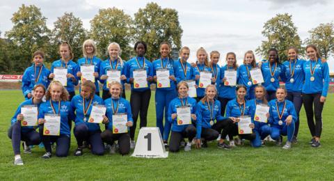 Das Team der Weiblichen Jugend U16 (Foto: TV01)