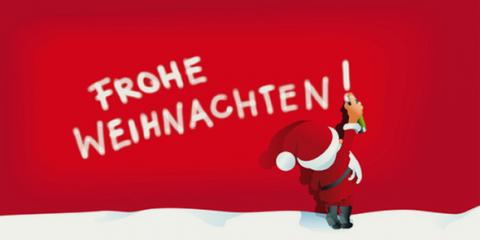 Frohe Weihnachten und einen guten Rutsch!!!