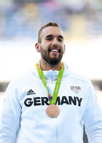 Daniel Jasinski gewinnt Bronze bei den Olympischen Spiele 2016 (Foto: von der Laage)
